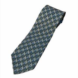 VINTAGE Christian Dior Monsieur 100% Silk Tie